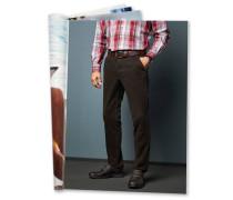 Chino, hohe Elastizität, Komfortbund, kontrastfarbene Nähte