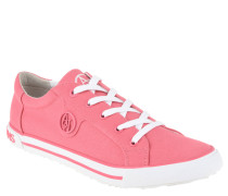 Sneaker, Canvas, Logo-Emblem, Wechselfußbett, Pink