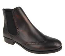 "Chelsea Boots ""Asuncion"", Leder, Budapester-Muster"