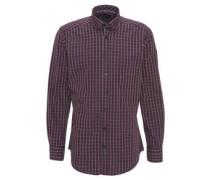 Hemd, mordern fit, Karo-Muster, Baumwolle