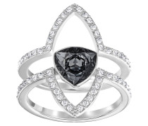 Fantastic Damenring-Set Crystal Silver Night 5251699, 2-teilig