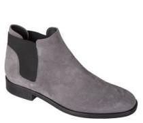 Chelsea Boots, Leder, runde Schuhspitze