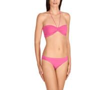 Bikinislip, uni, elastisch, Rosa