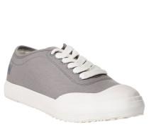 """Sneaker """"Midro"""", Canvas, Marken-Print, Grau"""