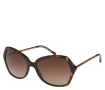 Sonnenbrille, Horn-Optik, gedrehte Brillenbügel