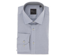 "Businesshemd ""Black Label"", Slim Fit, Kent-Kragen, Grau"