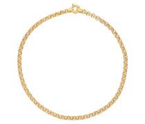 Silbererbskette vergoldet
