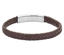 Armband, JF02822040, Braun|Silber