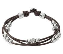Armband Leder braun mehrreihig JA6068040