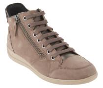 """Sneaker """"Myria"""", Veloursleder, atmungsaktiv, Taupe"""