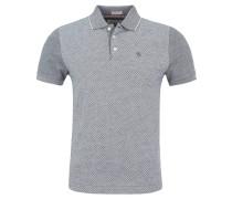 Poloshirt, Slim Fit, Blau
