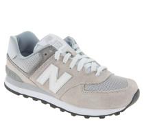 """Sneaker """"WL574CB"""", Velours-Leder, Mesh-Elemente"""