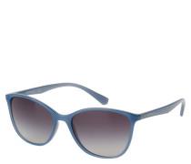 "Sonnenbrille ""EA 4073 5505/8G2"", Verlaufsgläser, halbtransparentes Design"