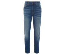 "Jeans ""Tramper"", Slim Fit, Tapered Leg, helle Waschung, Blau"