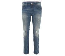 """Jeans """"Aedan"""", Slim Fit, Destroyed-Look, Blau"""