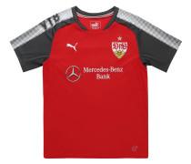 VfB Stuttgart Trikot Away 2017/18, für Kinder, Rot