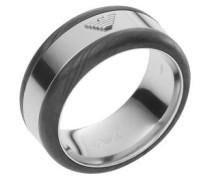 """Ring, """"DECO"""", Edelstahl mit Carbon, EGS2184040"""