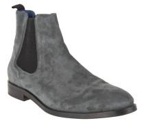 Chelsea Boots, uni, Zugschlaufe, Grau