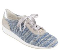 """Sneaker """"Lissabon-Fusion"""", Knit-Optik, Satin-Schnürsenkel"""