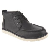 """Boots """"Chukka"""", Leder, wasserabweisend, Wechselsohle, Schwarz"""