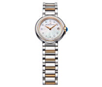 Damenuhr Fiaba Date Diamant rosévergoldet Bicolor FA1003-PVP23-170