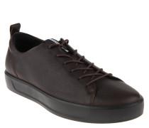 Sneaker, Leder, Innensohle aus Leder, robust, Braun