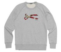 "Sweatshirt ""Scissor Camo"", Logo"