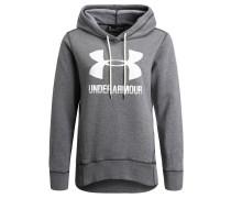 Sweatshirt, Kapuze, angeraute Innenseite, für Damen, Grau