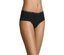 Panty, Logo-Aufschrift am Bund, unifarben