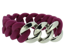 """Armband """"Original"""" 107775 Edelstahl aubergine silber"""