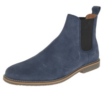 Chelsea Boots, uni, Zugschlaufe, Blau