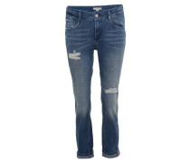 """Jeans """"Girlfriend"""", Relaxed Skinny Fit, Destroyed-Look"""