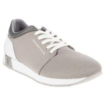 Sneaker, Mesh, Farbakzente, Grau