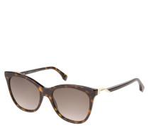 """Sonnenbrille """"FF0200/S"""", Cateye-Stil, Schildpatt-Optik"""