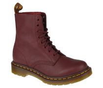 "Boots, Worker-Look, Kultschuhe ""Docs"", Rot"