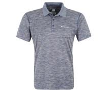 """Polo-Shirt """"Zero Rules"""", meliert, UV-Schutz, für Herren, Grau"""