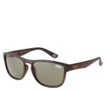 "Sonnenbrille ""SDS Rockstar 122"", Havana-Stil, matt, klassische Form"