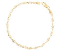 Armband aus 375 Gelbgold in filigranem Design