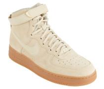"""Sneaker """"Air Force 1"""", Veloursleder, Klettverschluss, Braun"""
