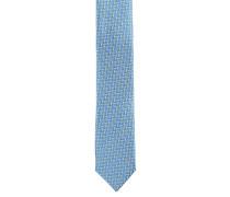 Krawatte, Seide, Zickzackmuster