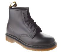 """Boots """"Smooth"""", Glattleder, matt, uni, Schwarz"""