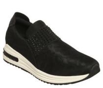 Sneaker, Tupfenoptik,Strass