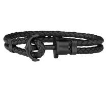 Ankerarmband PHREP IP Schwarz Schwarz 18 cm