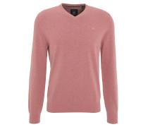 Pullover, Baumwolle, V-Ausschnitt, Langarm