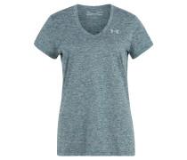 T-Shirt, atmungsaktiv, meliert