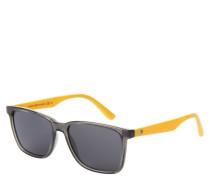 "Sonnenbrille ""TH 1486/S"", transparente Fassung, eckige Form"