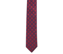 Krawatte, Seide, kariert, schimmernd