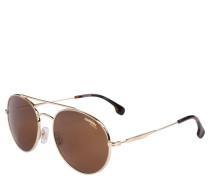 "Sonnenbrille ""131/S"", Pilotenbrille, goldfarbenes Metall"