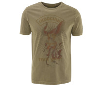 T-Shirt, Baumwolle, Front-Print
