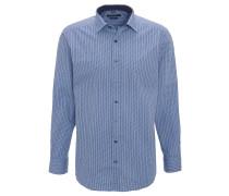 Hemd, Langarm, Kläppchen-Kragen, geometrisches Muster